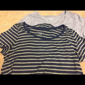 3 FOR $15 SALE!!!  Lot of 2 Maternity T-Shirts.